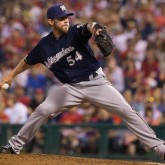 MLB: Milwaukee Brewers at Philadelphia Phillies