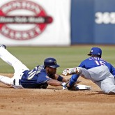 MLB: Spring Training-Texas Rangers at Milwaukee Brewers